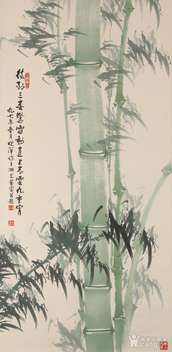 万晓萍作品,画竹图2