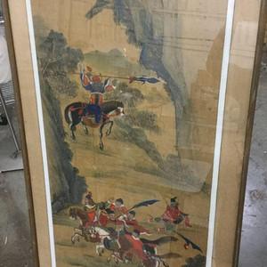 回流的中国画