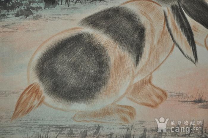 刘奎龄作品 对兔图6