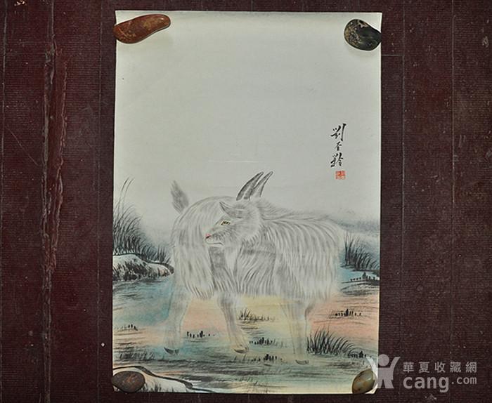 李奎龄作品  羊图1