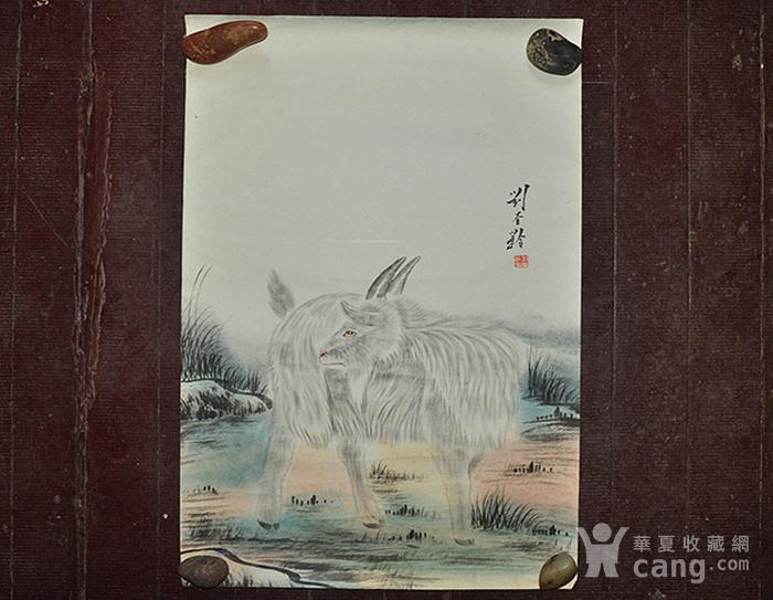 李奎龄作品  羊图5