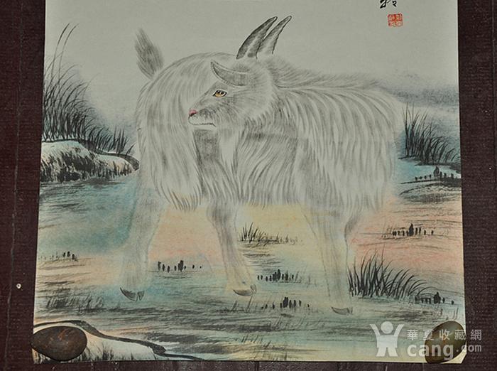 李奎龄作品  羊图2