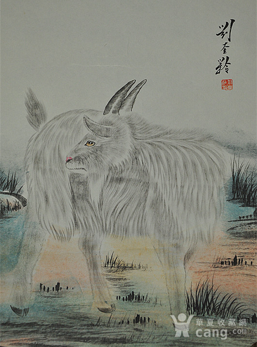 李奎龄作品  羊图6