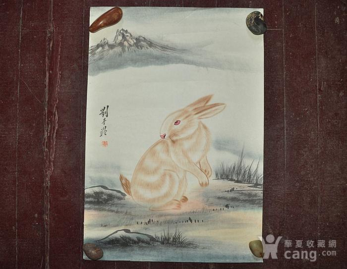 李奎龄作品  兔子图1