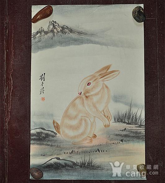 李奎龄作品  兔子图12