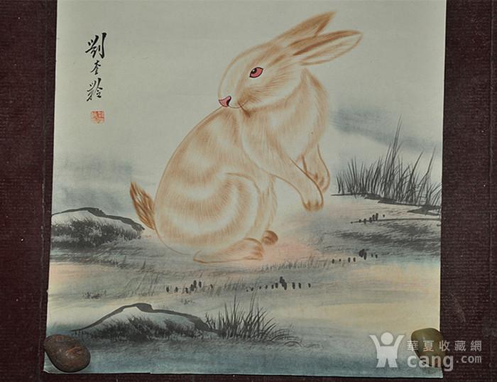 李奎龄作品  兔子图3