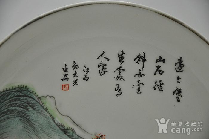 江西瓷碟一对图7