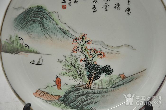 江西瓷碟一对图9