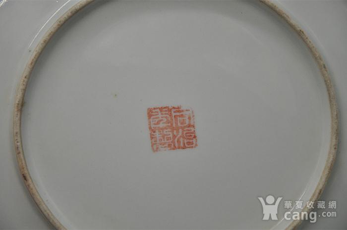 江西瓷碟一对图12