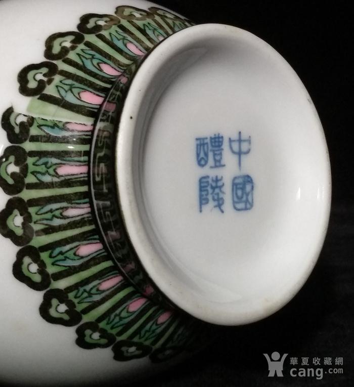 英国回流的醴陵瓷锦鸡富贵图花瓶一对图7
