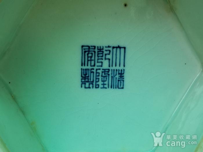 青花折枝果六方瓶图12