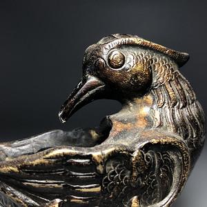精致 清代铜质文房水盂
