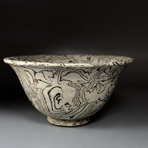 珍贵高古瓷 宋金 当阳峪窑搅胎瓷碗一只