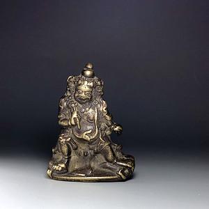 藏区回流 包老百年以上随身小佛一尊
