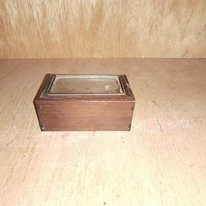 红酸枝小镜盒