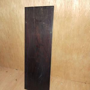 红酸枝素板一片