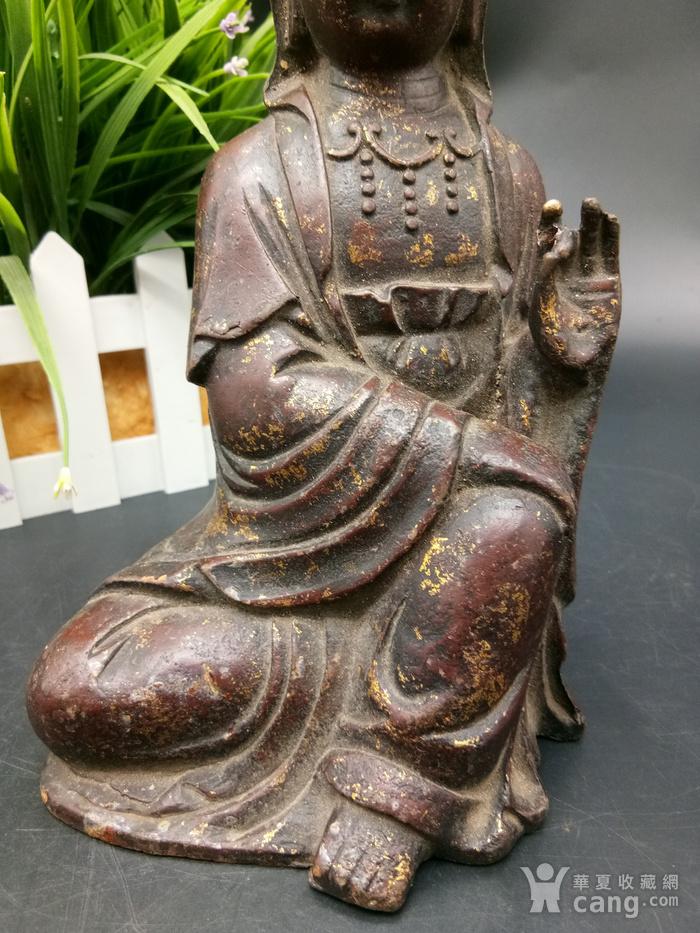 清铜鎏金佛像图6