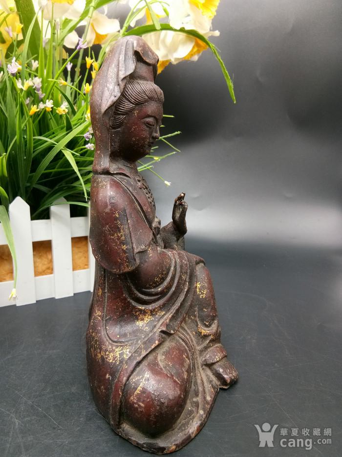 清铜鎏金佛像图2