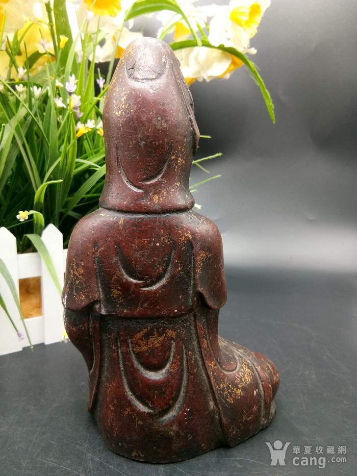 清铜鎏金佛像图4