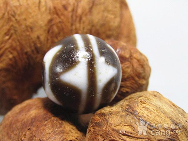 藏传 玛瑙山水珠 包浆熟厚图4