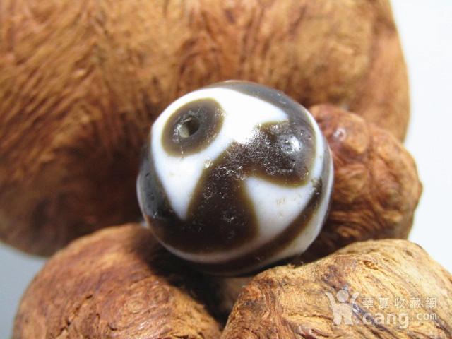 藏传 玛瑙山水珠 包浆熟厚图7