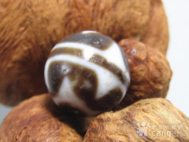 藏传 玛瑙山水珠 包浆熟厚图6