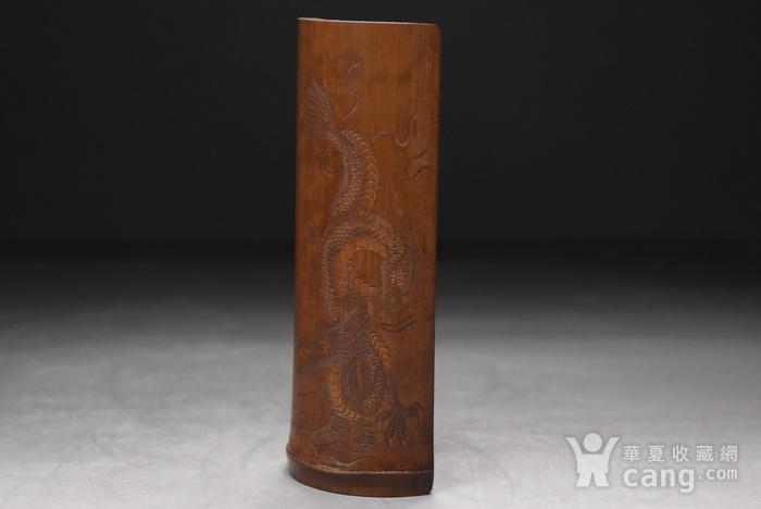 联盟 百年老梅竹手工雕茶则图2