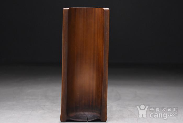 联盟 百年老梅竹手工雕茶则图9