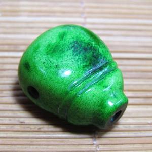 晚清秋蕨 一体佛头三通 包浆熟厚