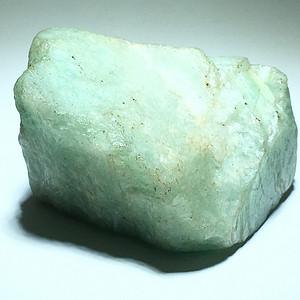 精品 祖母绿 原石 个头非常大 色淡 无瑕疵