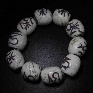 藏传砗磲珠子