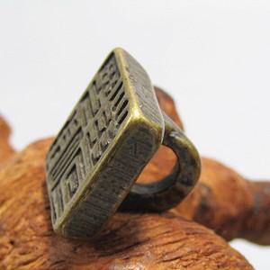 宋老铜打造 方印 氧化清晰