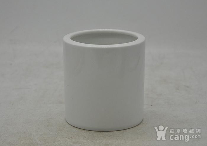湖南醴陵国瓷研究所釉下彩笔筒图4