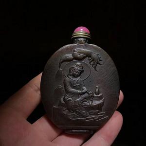 联盟纯手工大师雕刻鼻烟壶