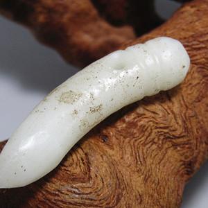 清和田一级白玉 挂件 包浆熟润