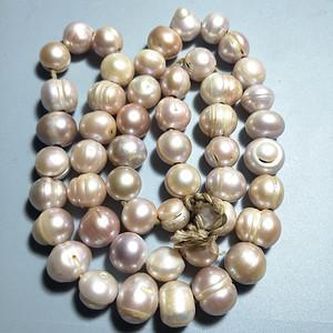 天然珍珠链子