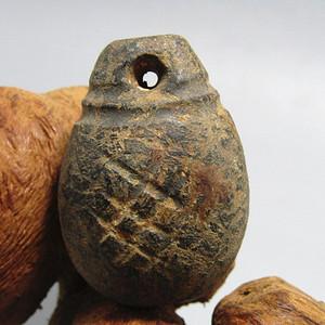 汉代 实权 挂件刀工古朴 包浆厚重
