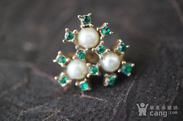 珍珠绿钻别针图4