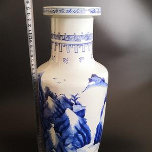 青花棒槌瓶