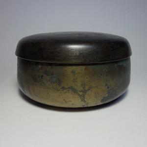 老包浆清代铜盖钵!