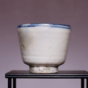 藏海淘 白釉瓷碗 JZ372