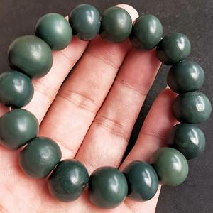 精品古珠绿玛瑙