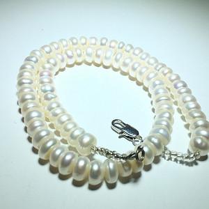 精品 天然 日本 算盘珠 珠子光泽非常好 珠光宝气