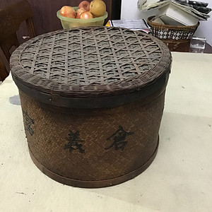 民国后期的江南竹编精品