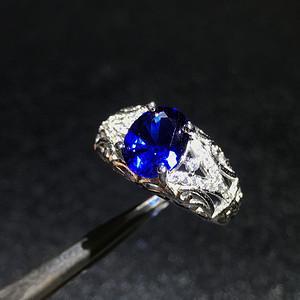 联盟 斯里兰卡皇家蓝宝石戒指