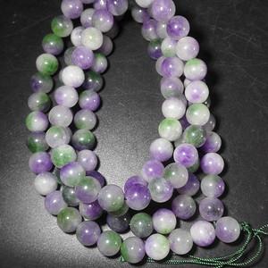 紫罗兰珠子一串