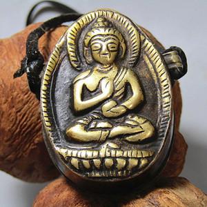 藏传老铜打造 藏佛 包浆熟厚