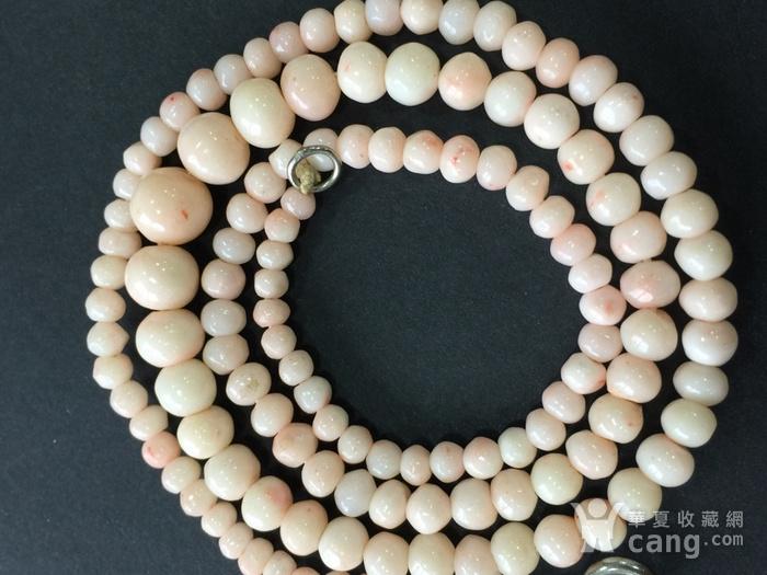 8001欧洲回流意大利粉珊瑚项链图1