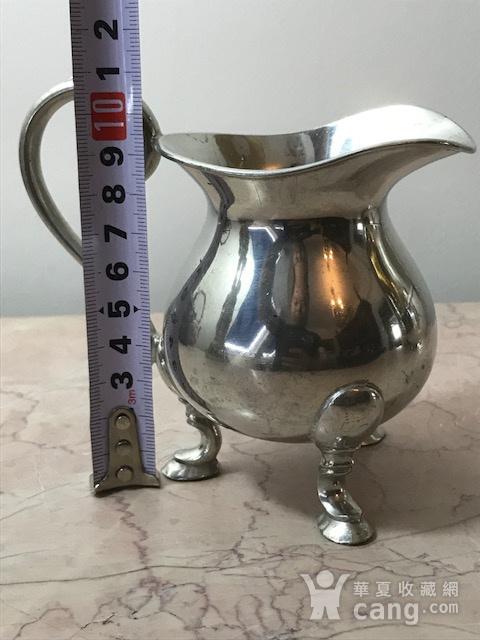 7002 英国谢菲尔德镀银奶罐图6