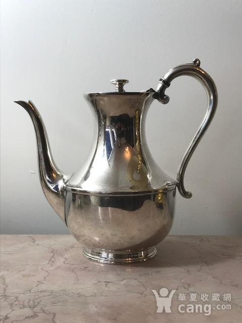 7003 英国谢菲尔德镀银茶壶图1
